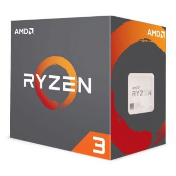 AMD Ryzen 3 1300X CPU with Wraith Cooler, AM4, 3.5GHz (3.7 Turbo)